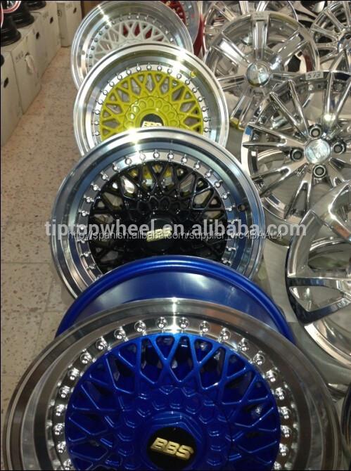 Réplica BBS rines de aluminio de 14 15 16 17 18 19 pulgadas