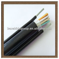 2013Manufacturer-Copper Conductor PE Insulated Pilot Cable used with high voltage power cable in ducts or underwater