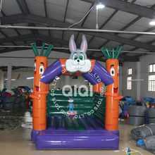Rabbit commercial moon bounce for sale