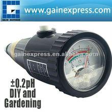 ZD-05 À prova d ' água 2em1 Self powered dupla de nível de pH e medidor de umidade Tester plantas culturas flores vegetais