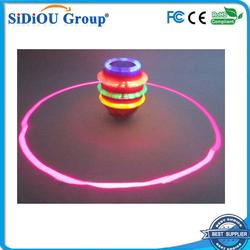 led flashing spinning top toy