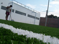 High quality latex backing artificial grass for rugby fields