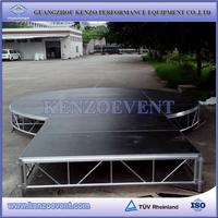 mobile mini indoor concert stage design