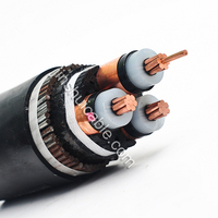XLPE insulated coaxial cable, 18 AWG cable, armoured cable