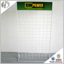 Small metal wire storage shelf rack from Guangzhou manufacturer