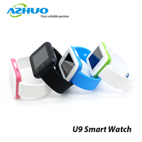 2015 Cheap Bluetooth Smart Watch for smart Phone U9 Smart Watch