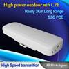 10years big factory High Power PoE 5.8G 3km wifi range 2.4ghz 300mbps with 14dbi wifi antenna wireless ap ar9344 outdoor cpe