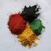 iron oxide black,red,yellow,brown