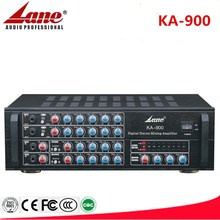 Lane high quality Digital Stereo Mixing Karaoke amplifier KA-900