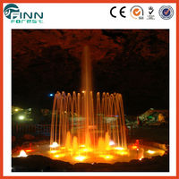 2014 New design Outdoor Large Musical remote Control water Fountain parts