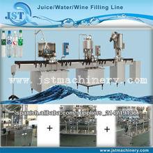 Máquina embotelladora de agua potable para la pequeña botella
