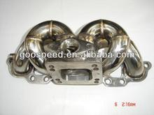 Stainless Steel Exhaust TOP-Mount Turbo Manifold sr20det T3/t4