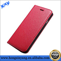 For iPhone6 Flip genuine leather case