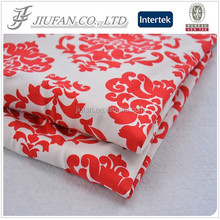 Jiufan Textile Soft 100% Cotton Spandex Single Jersey Knitted Printing Fabric for Garment