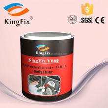 Car Paint KINGFIX body filler repairing cars