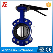 wafer type di/ci/ss high temperature butterfly valves drinking water fm/ul
