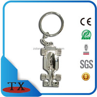 3D Promotion Metal Car Logo Key Chain