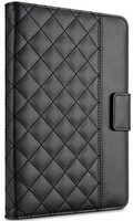 Quilted covers microfiber pu leather cover for ipad 5 china manufactory