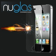Nuglas Top Brand Ultra-thin 0.3mm 2.5D 9H Anti-shock Premium Tempered Glass Screen Protector for iPhone 5s