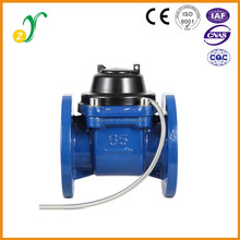 Highly accurate flow indicator easy to use good quality remote reading water meter
