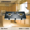 tempered glass glass 3 burner gas stove G302IB