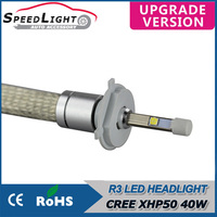 SpeedLight New Arrivals 40W 4800LM R3 Plug And Play Car LED HeadLight H4 H7 H11 9005 9006 H1 H3 H13 9004 9007