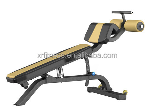 Commercial Gym Exercise Machine Adjustable Decline Bench XP23