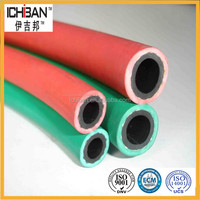 "20bar Best quality smooth flexible textile 1/4"" I.D smooth surface twin line welding hose"