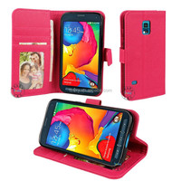 Soft Wallet Leather Case Cover For Samsung Galaxy S5 Sport SM-G860P Cell Phone Case