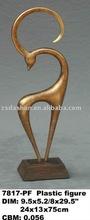 Ds-032c resina figuras de animales para el hogar moderno piezas de decoración de estilo simple ds-032c