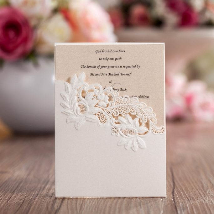 cut small wedding invitation card thank you card stg6 buy wedding