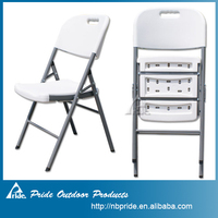 2015 top sell plastic used folding chairs wholesale