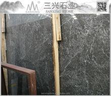 Olive grey natural marble slab tile