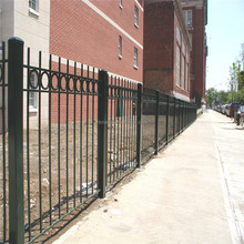 ISO certificate no dig fence panels, steel fence of factory for sale