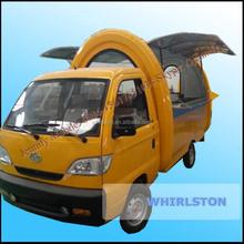 Electric Fast Food Vending Car/Mobile Food Car/Food Selling Car