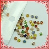 M045 Fashion 4mm Pearl Mix Color Style Nail Art Jewellery Decals 3d Nail Design Nail Supplies Pearls