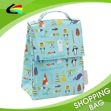 Full Color Print Cute Kids Thermal Bag for Lunch Box