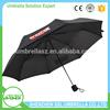 Shenzhen umbrella suppllier 3 fold custom printed umbrella