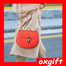 OXGIFT 2015 Latest Pure Color Pig Fashion Women Handbag