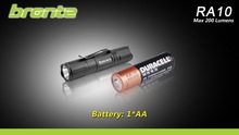 Bronte RA10 CREE LED 200 lumens cree led parts flashlight 1578390561