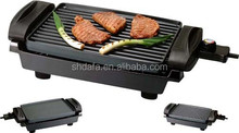 table reversible electric grill with 2 layer Dupont non-stick coating plate