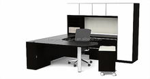 With Filing Cabinet Office Cucbicle Melamine Executive Office Desk (HX-139)