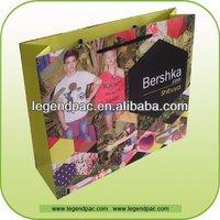 Promotion Customized Kraft Paper Bag Kraft Euro Tote Paper Bags