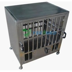 304 stainless steel Good price YSVET0510 dog and cat stainless steel vet cage