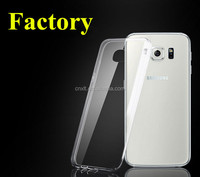 High Quality TPU Mobile Phone Case For Samsung Galaxy S6 Edge