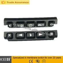 conductive silicone rubber keypad for car