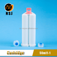50ml 1:1 Two Parts One-off Dental Silicone Cartridge