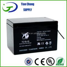 18V 10Ah Sealed Lead Acid MF SLA Audio Speaker SMF Rechargeable Battery