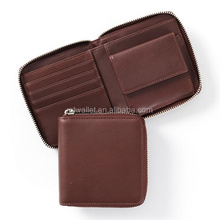 Mini Women Wallet,Zipper around Wallet,Small Zippered Wallet
