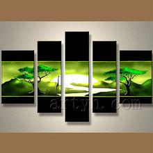 moderna popular decorativas hechas a mano del arte moderno diseño de la pintura